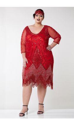 Plus Size - Dresses - Clothing | Gatsbylady London