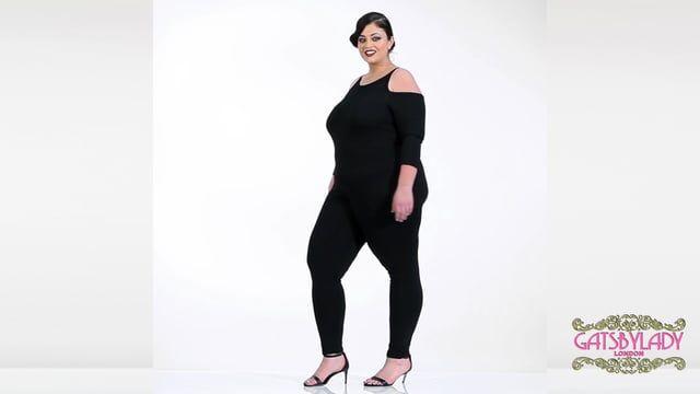 c8fd1050134f Emily Bohemian Bodycon Halter Neck Cold Shoulder Jumpsuit in Black