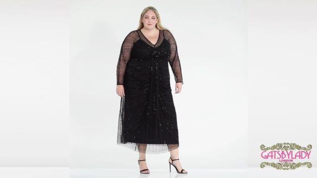 Nell Maxi Dress in Black
