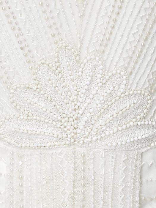 a8acbf0f400 Nell Maxi Long Sleeved Wedding Dress in White | Gatsbylady London